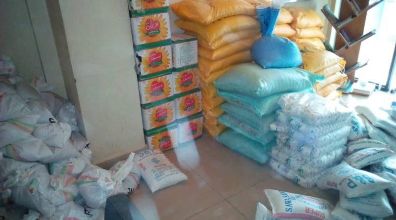Nyarugenge: Member Organizations of Rwanda NGOs Forum supported Genocide survivors with food commodities